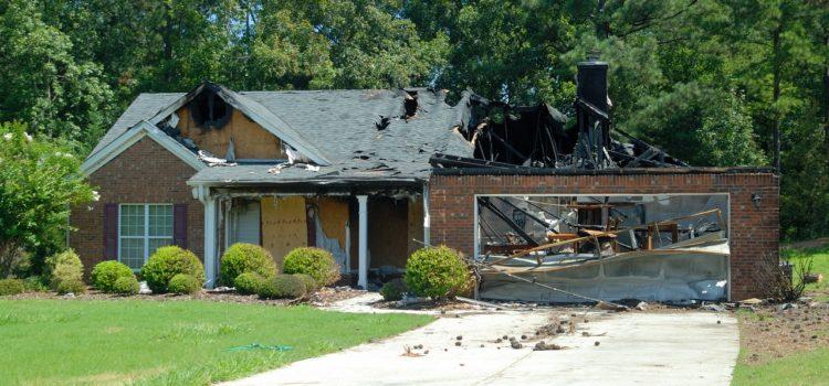 renovation d'une maison post-incendie